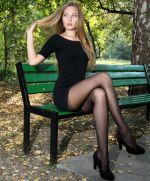 Pantyhose High Heels Dress Legs Sitting
