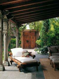 Cozy patio! | Backyard | Pinterest