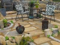 Sand Set Flagstone Patio | Outdoor Spaces | Pinterest