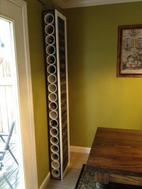 PVC Wine rack with Chalk Board front | For the Home ...
