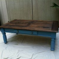 Refurbished Craigslist coffee table