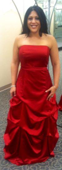 Red Bridesmaid Dresses David'S Bridal