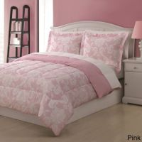 Pink Full Damask Comforter Set Bedding Sets Bedspreads