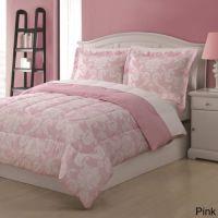 Pink Full Damask Comforter Set Bedding Sets Bedspreads