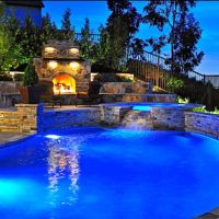Amazing backyard pool