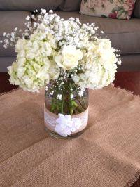 Bridal Shower flower arrangement | Wedding Ideas | Pinterest