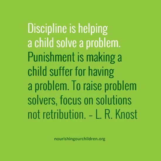 essay punishment vs discipline