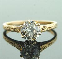 Rose Gold Rings: Antique Rose Gold Rings