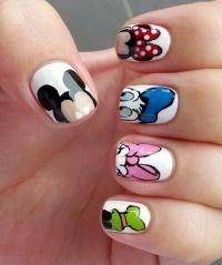 Disney character nail art | Makeup & Nails | Pinterest