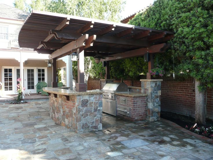 Covered Outdoor Kitchen Covered Outdoor Kitchen - Google Search | Outdoor Kitchen