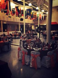Cheerleading Banquet Table Decorations Photograph   Cheer ba