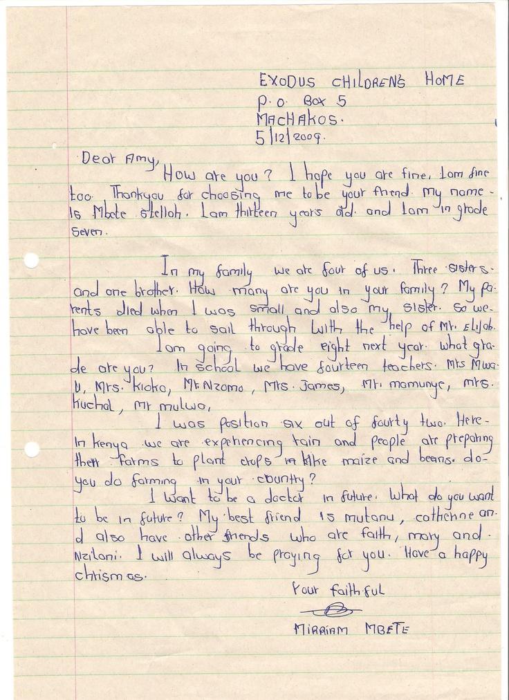 Pen pal letters example good resume template pen pal letters friendly letter format letter writing sample letters pen pal letters classroom ideas pinterest altavistaventures Choice Image