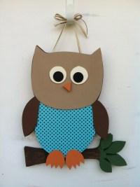 Owl door decoration   Door Decorations   Pinterest
