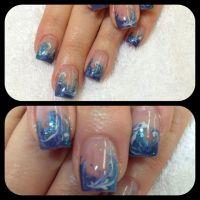 Ocean Nail Designs | share | Nails | Pinterest