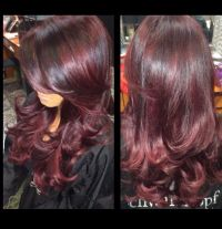 Eggplant Hair Color   eggplant hair color hair pinterest