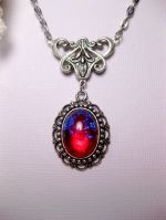 Dragon S Breath Fire Opal Necklace