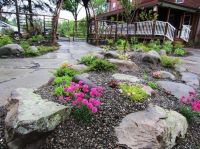 Just a simple rock garden.   Dream Farm & Barn   Pinterest
