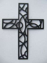 Cross Metal Wall Art 12 Inches