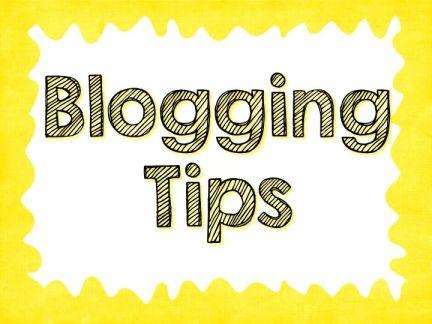 #blogging tips