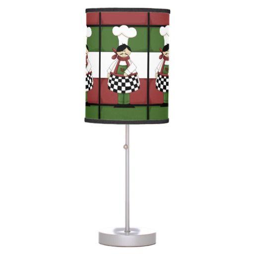 Italian Chef Kitchen Table lamp