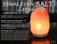 Benefits of Himalayan salt lamps | health/sickness | Pinterest