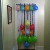 Birthday door decoration
