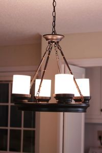 Dining nook lighting? | LP Kitchen Makeover | Pinterest