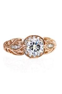 Rose Gold Ring: Rose Gold Rings Etsy