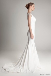 Simple And Plain Wedding Dresses