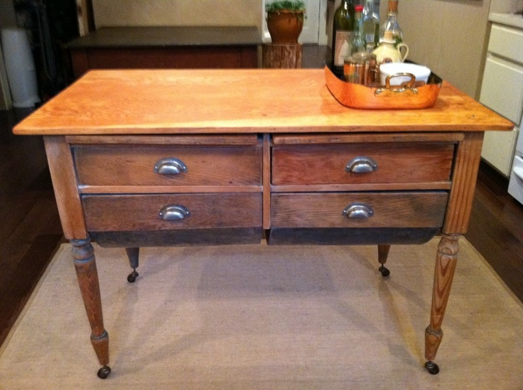 Antique Kitchen Islands Antique Kitchen Island | Vintage | Pinterest