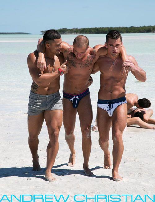 los Modelos Andrew Christian en Florida