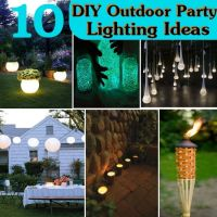 10 DIY Outdoor Party Lighting Ideas | Sreen At The FoORD ...
