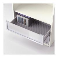 INREDA DVD rack, gray