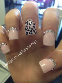 Cheetah Print Nail Design | Nail designs instagram ...