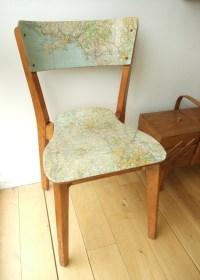 Decoupage Chair | DIY Inspiration | Pinterest