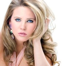 frosted hair styles champagne blonde hair color dark brown ...