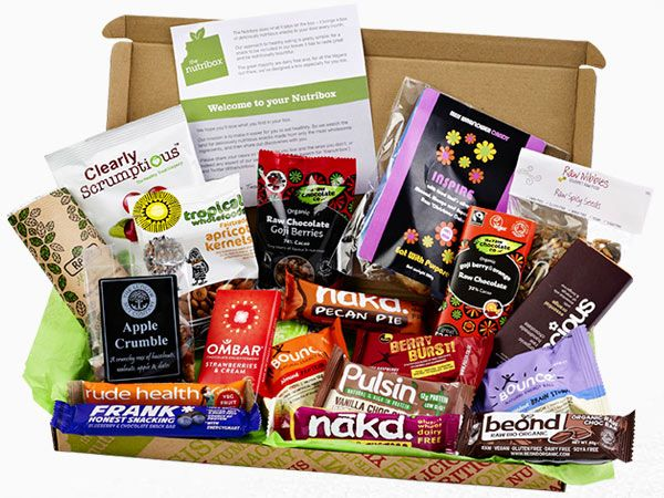 Healthy Snack Boxes Delivered Health By Mouth Pinterest