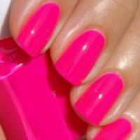 Hot Pink Nail Polish | Girly | Pinterest