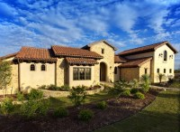 Idea home landscaping: Tuscan style backyard landscaping ...