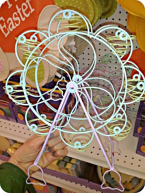 easter egg ferris wheel