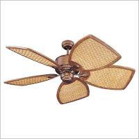 wicker ceiling fans | Rattan Ceiling Fan | Decor | Pinterest