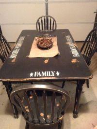 Primitive table | Primitive Style | Pinterest