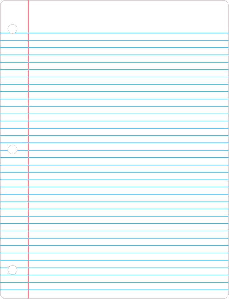 College Ruled Paper – Printable College Ruled Paper