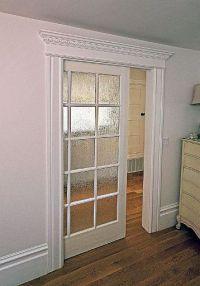 Glass pocket door | For the Home | Pinterest
