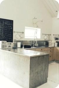 Concrete Kitchen Island Diy   myideasbedroom.com