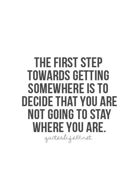 Pinterest - The First Step