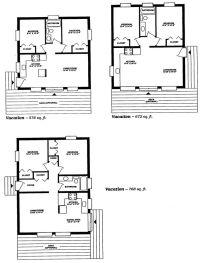 small cabin floor plans | Guest cottage | Pinterest