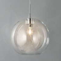 Fish bowl pendant lamp