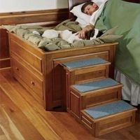 Dog bed and steps | awesomeness | Pinterest