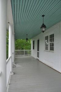 I want a haint blue porch ceiling.   Haint blue porch ...